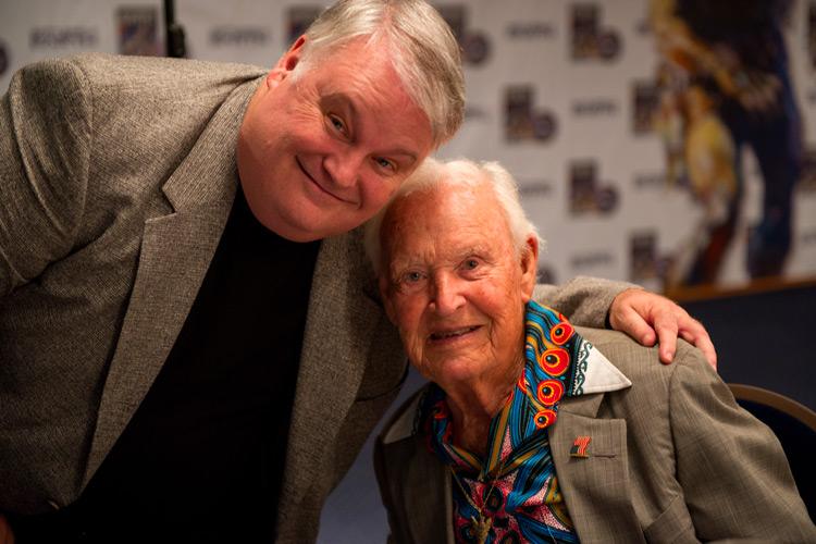Skip Harris and Jimmy Weldon