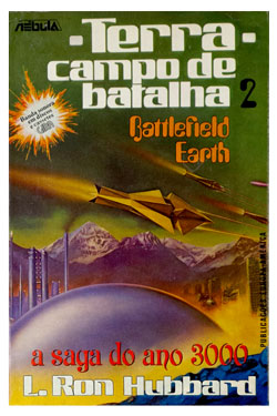 Battlefield Earth Portuguese Trade Paperback 1984