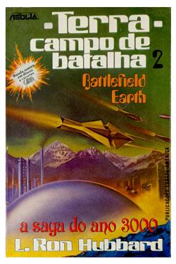 Battlefield Earth Portuguese Trade Paperback 1984