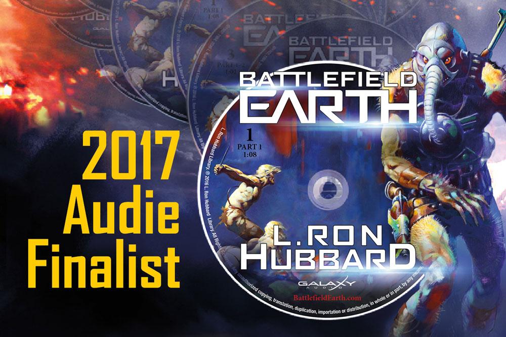 Battlefield Earth audiobook 2017 Audie Finalist