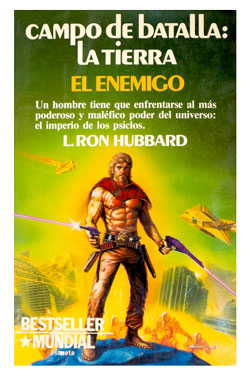 Battlefield Earth Spanish Paperback 1985