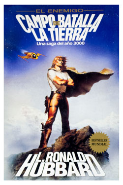 Battlefield Earth Spanish Trade Paperback 1985