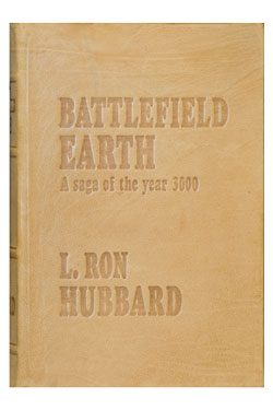 Battlefield Earth Special Buckskin Edition Leatherbound