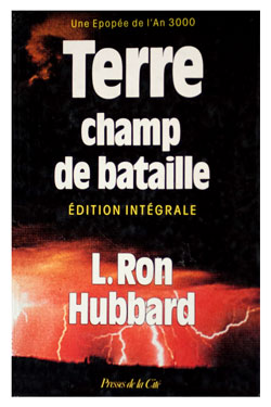 Battlefield Earth French Hardcover 1986