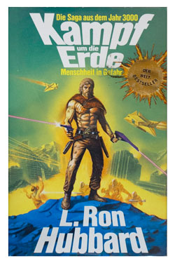 Battlefield Earth German Hardcover 1986