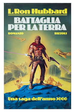 Battlefield Earth Italian Hardcover 1986