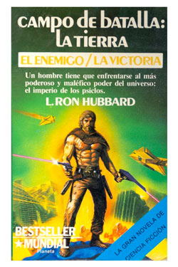 Battlefield Earth Spanish Paperback 1986