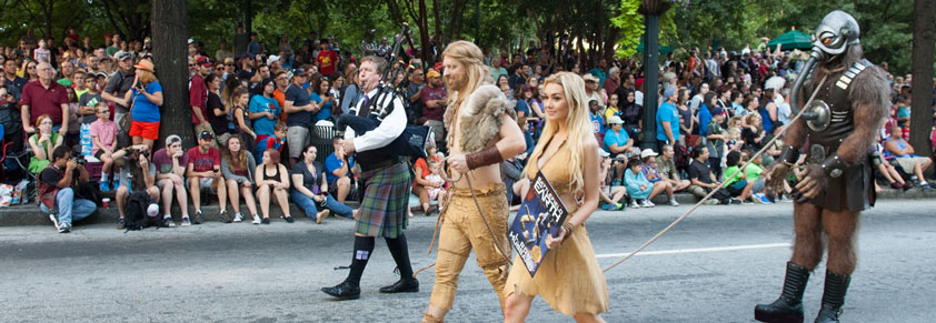 Dragon Con 2016 Parade