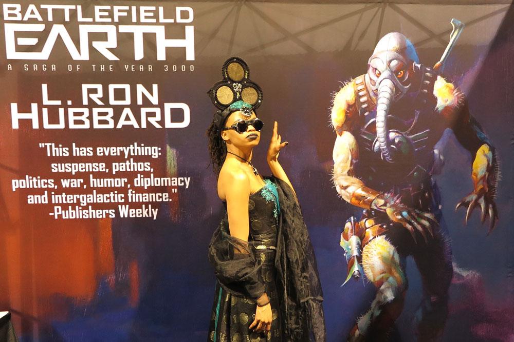 Battlefield Earth at Long Beach Comic Expo