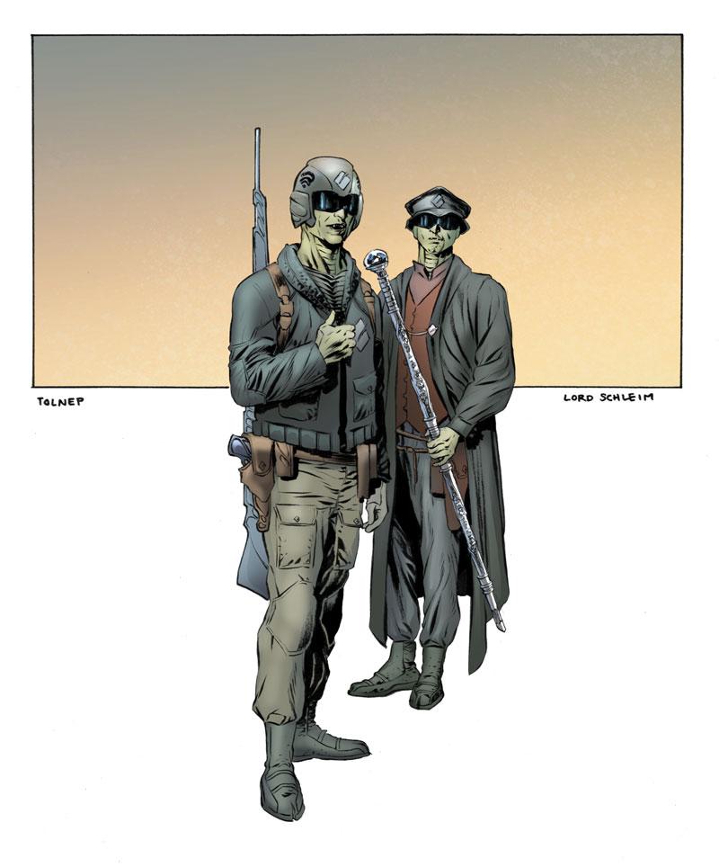 Tolnep marine & Lord Schleim