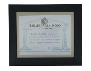 Tetradrama D'Oro Award