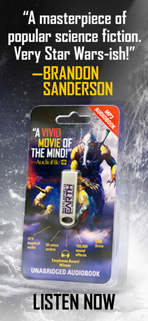 Battlefield Earth Audiobook on USB