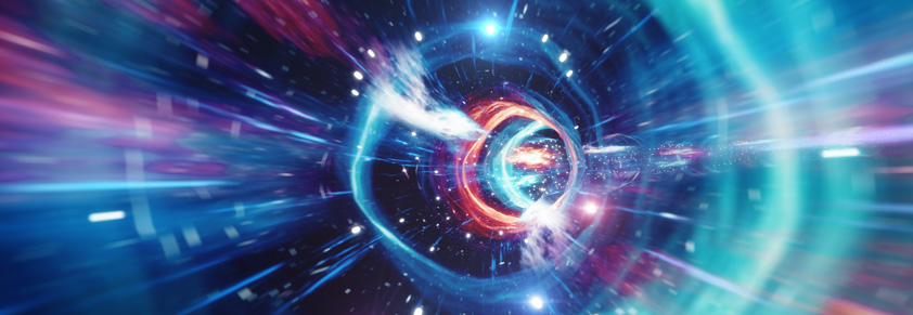 Interstellar travel through a wormhole