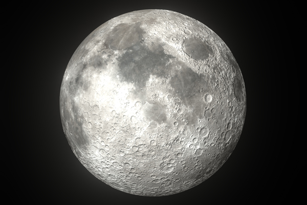 crater on the moon